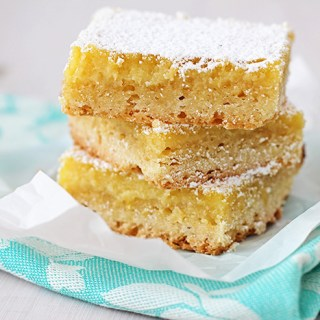 Minding our Ps and Qs: Ricotta Lemon Bars