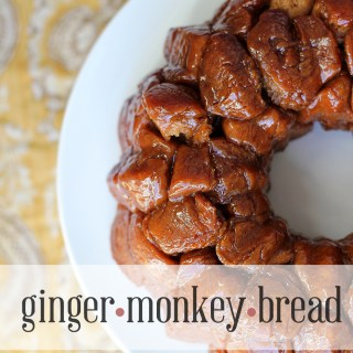 Eat like a monkey: Ginger(monkey)bread
