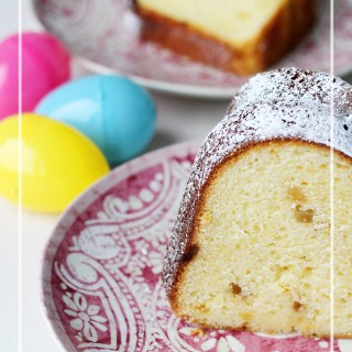 Happy Easter! Lemon Ginger Bundt Cake