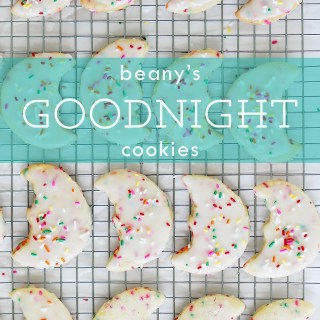 Beany's Goodnight (Funfetti) Cookies!