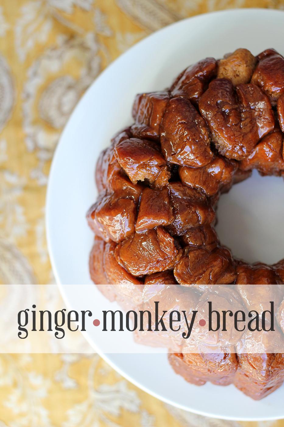 Eat like a monkey: Ginger(monkey)bread - Splash of Something