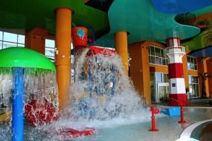West Tower Splash Park