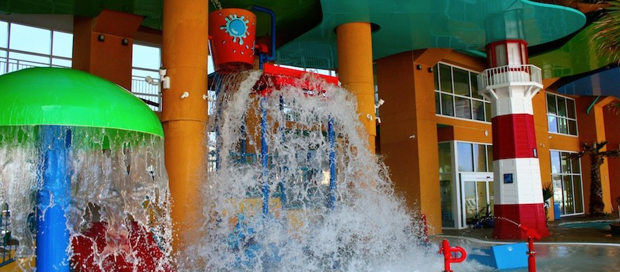 West Tower Splash Park