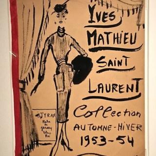 Yves Saint Laurent at the Seattle Art Museum…
