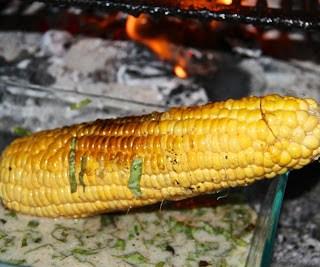 Roasted corn, Thai style….