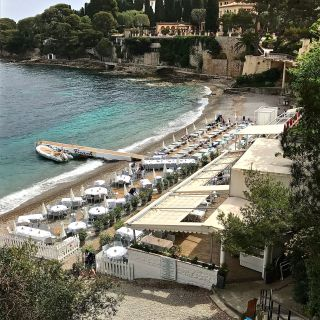 Out in the ocean without getting wet in Saint~Jean~Cap~Ferrat, France….