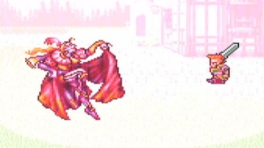 General Leo fights Kefka