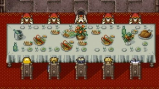 Final Fantasy VI Meeting the Emperor