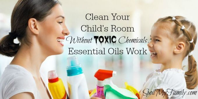 Essential Oils Are Perfect for Cleaning Your House. They get the job done, they smell terrific, and best of all - NO toxic chemicals are left lurking around your house! www.spoilmyfamily.com #essentialoils #cleanwithessentialoils