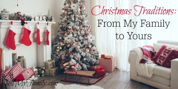 Enjoy Christmas by learning to love messy, sloppy, and maybe sticky, Christmas traditions. www.spoilmyfamily.com
