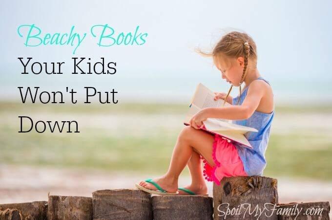 This beach stories reading list is all you need before you hop in your hammock with your little one and start turning the pages! www.spoilmyfamily.com