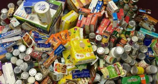 Canned food drive photo by PROJohn Fischer/Flickr