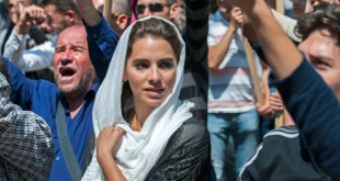 """Melia Kreiling as Daliyah in """"Tyrant"""" on FX. Photo courtesy of Kata Vermes/FX"""
