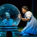Janet Hanson (l) and Traci Allen Shannon star in Wizard of Oz