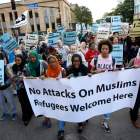 PHOTOS   Muslim residents and supporters march against Islamophobia