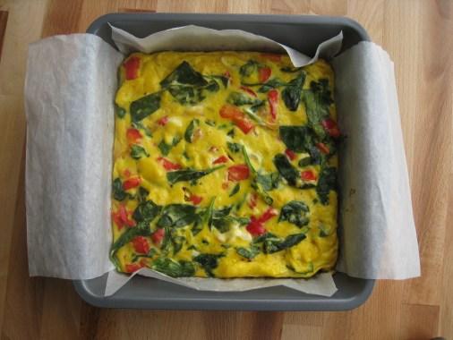 alternate baking option for frittata