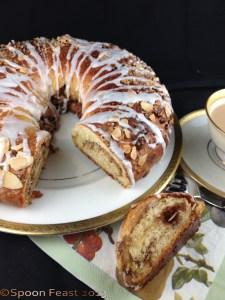 Cinnamon Almond Danish Ring