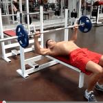 developpe couche exercice de musculation
