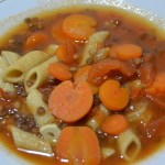 MINESTRONE LENTILLES COOKEO