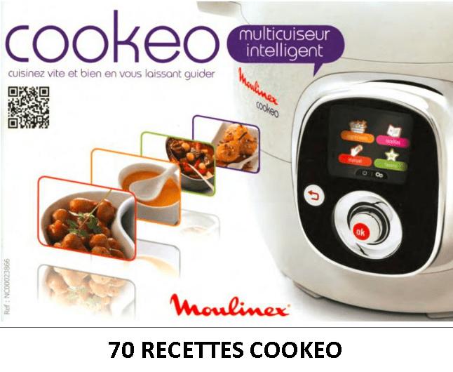 Livres recettes cookeo 70 nouvelles recettes