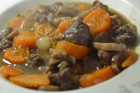 Boeuf Bourguignon cookeo weight watchers