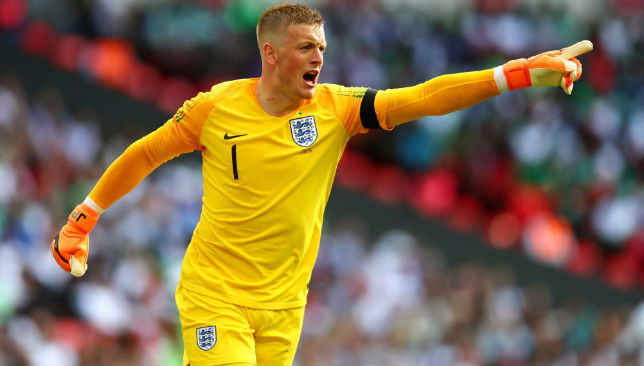 World Cup news  Choice between Jordan Pickford and Jack Butland will     World Cup news  Choice between Jordan Pickford and Jack Butland will be  tough for Gareth Southgate  says David Seaman   Article   Sport360