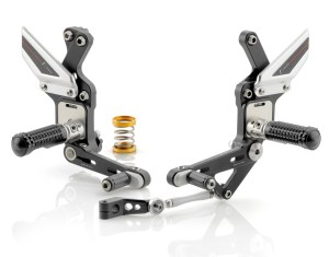 Rizoma EVO Rearsets for Triumph Speed Triple 11-12