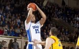 Jahlil Okafor in action for the Duke Blue Devils