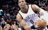 Russell Westbrook in action for the OKC Thunder