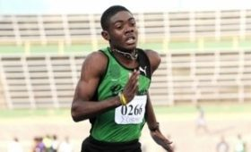 Calabar High's Christopher Taylor was in action again