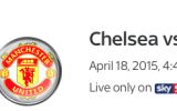 Chelsea v Manchester United Info and TV Channel