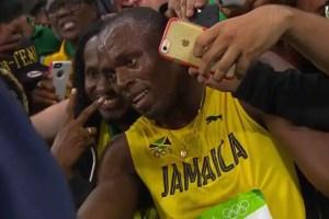 Usain Bolt at Rio 2016.
