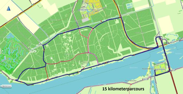 15-kilometerparcours