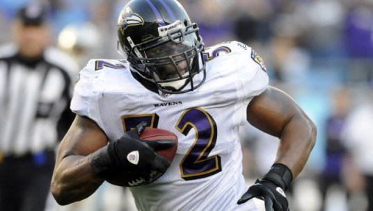 Following his retirement, could Ray Lewis have a role in the NFL league offices next season? (Credit: AP Photo)