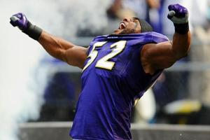 Was Ray Lewis the victim of an imaginary steroid scandal? (Credit: AP Photo)