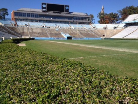 Photo: RyanKantor.com The Lesser Known Hedges of Kenan Memorial Stadium