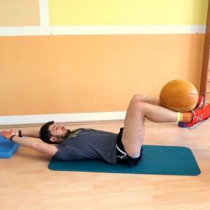 sehr effektiv für gewollten Bauchmuskelkater...
