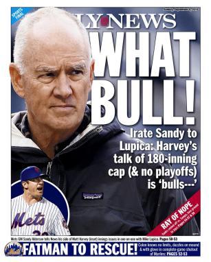 A la prensa neoyorquina no le gustó el nuevo límite