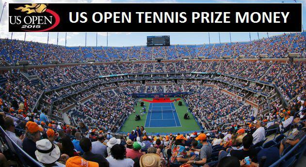 US Open 2015 tennis prize money