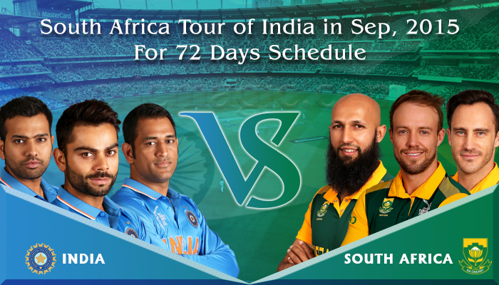 South Africa tour of India 2015