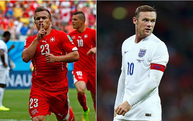 England vs Switzerland live