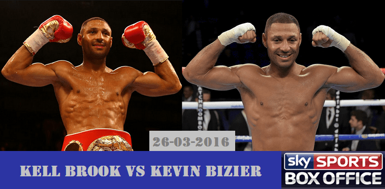 Kell Brook vs Kevin Bizier