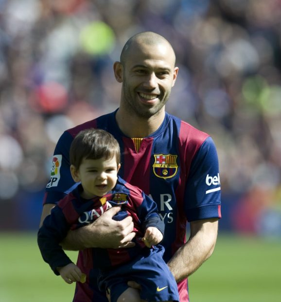 Kids of Javier Mascherano 2