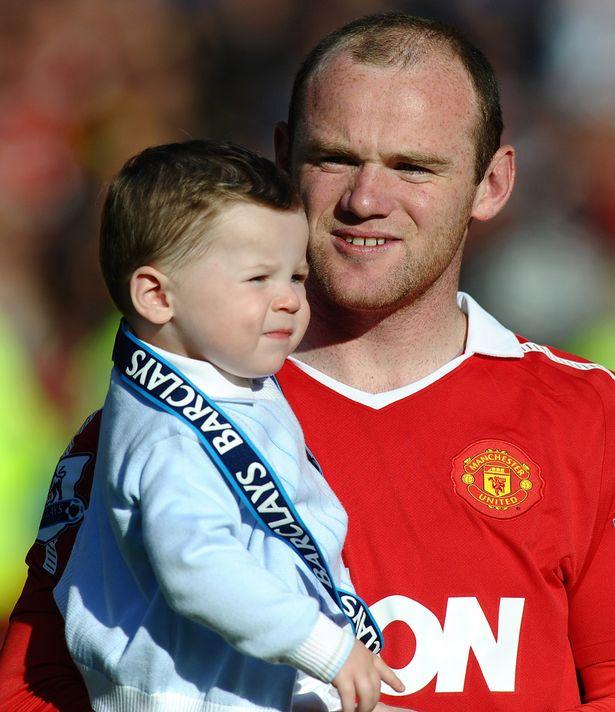 Kids of Wayne Rooney 5