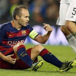 Barcelona captain Andres Iniesta sidelined for two months
