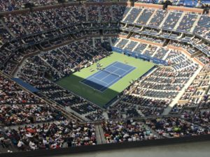 Pic - US Open - Ashe from above