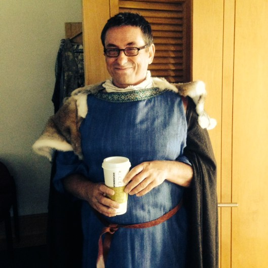 Even antique Romans need coffee.