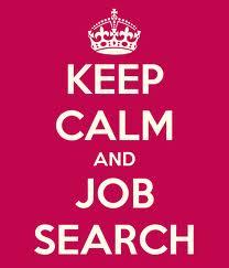 Keep Calm Job Search