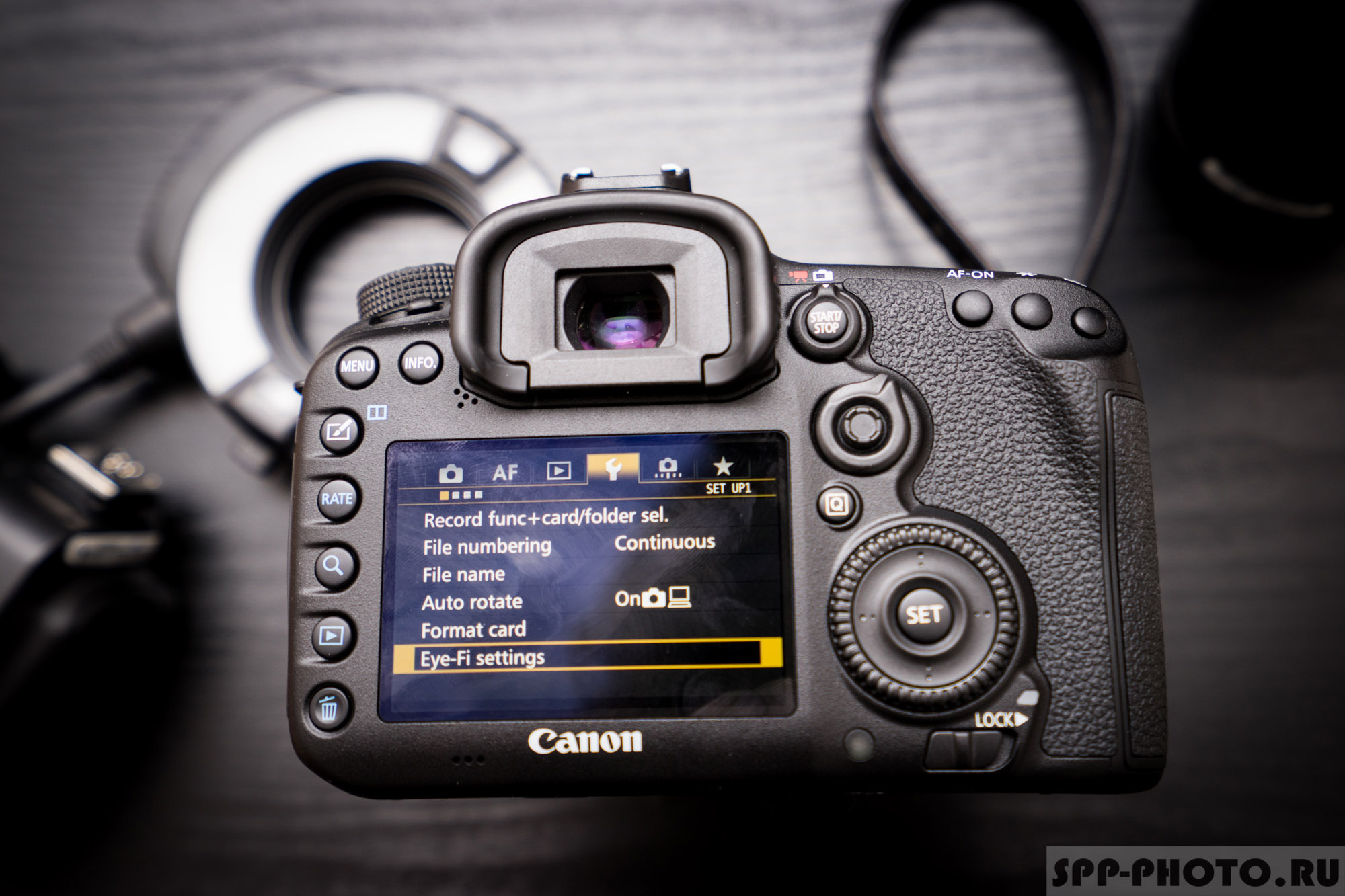 Camera settings for group photos