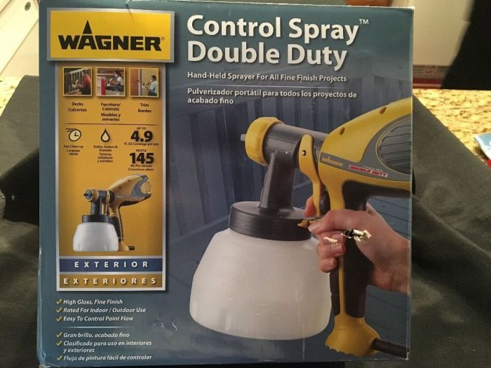 Wagner 0518050 Control Spray Double Duty